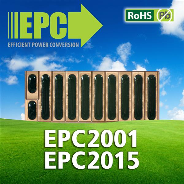 Efficient Power Conversion Corporation (EPC) Introduces Two Industry Leading Lead-Free and RoHS Compliant eGaNTM FETs