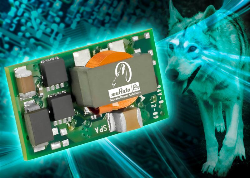 Murata Power Solutions Adds Wide-Input Range, Programmable Output Voltage PoL Converters to Okami Range