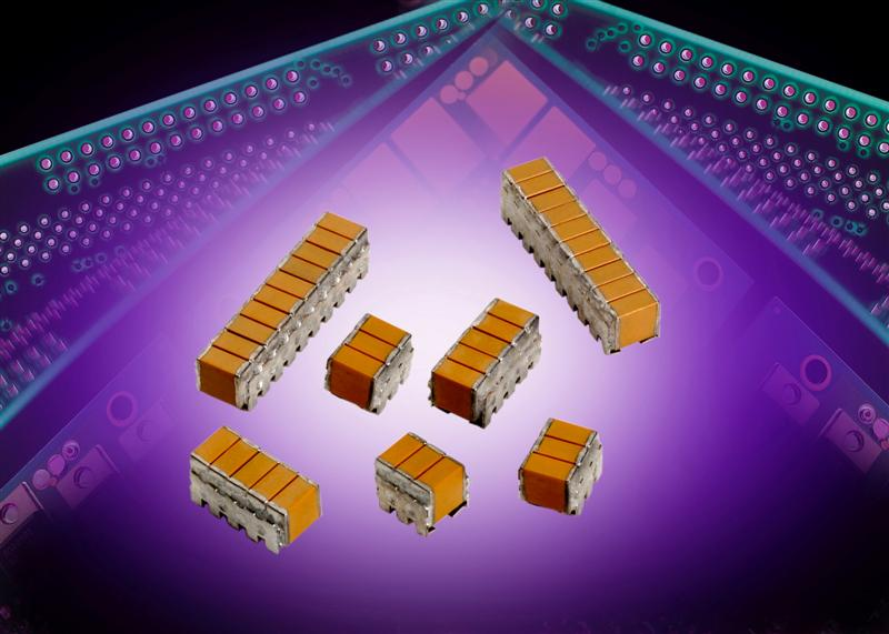 AVX's High CV Stacked Capacitors Utilize State-of-the-Art BME Technology, Provide RoHS-Compliant Versions