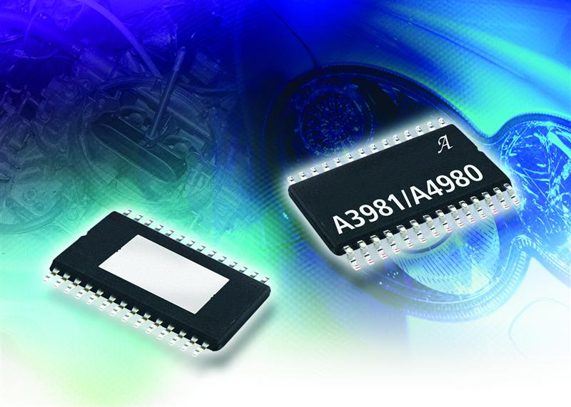 Allegro's Automotive-Grade Programmable Stepper-Motor Driver ICs