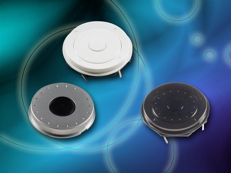 C&K Develops 7-Way Compact Scroll Wheel Switches for Consumer and Navigation Applications
