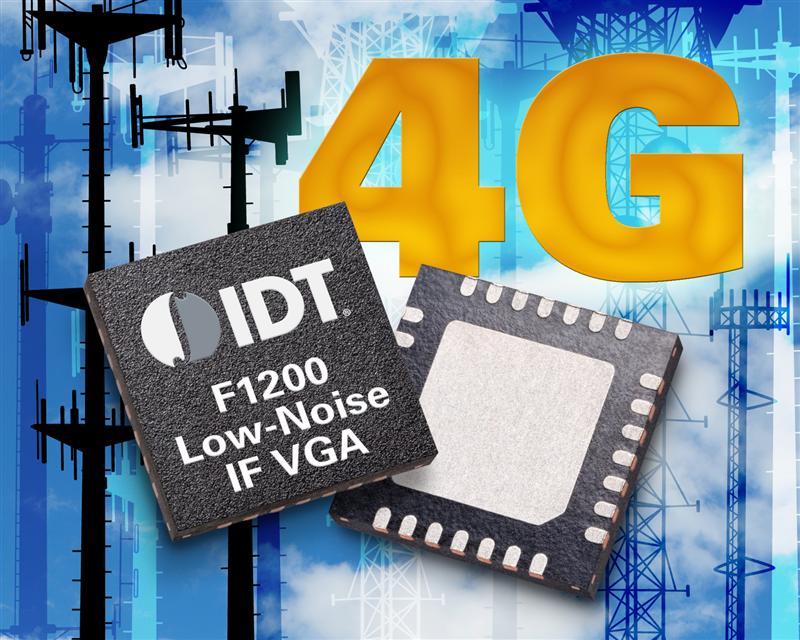 IDT Expands Wireless Infrastructure Portfolio With First In Family of RF Signal Path Solutions