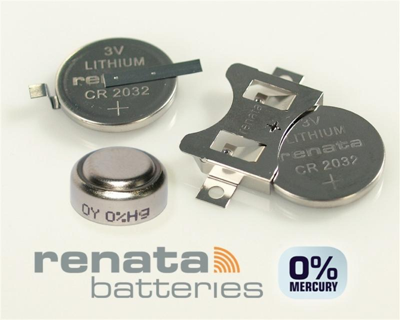 Renata Batteries Develops 0% Mercury Button Cells In Advance of New Regulations