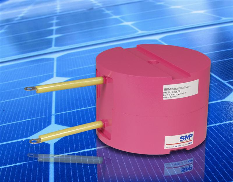 Chokes Boost Solar Power Inverter Efficiency