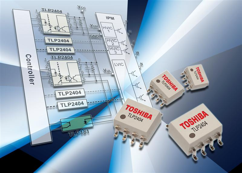 New photocoupler for industrial motor control and inverter applications with extended operating temperature