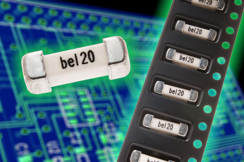 Bel's New 3812 Size Medium-Blow Fuses for Higher Current Applications