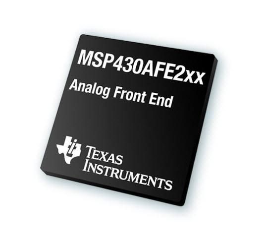 TI's MSP430 microcontroller portfolio expands to offer industry's first programmable metrology devices for low-cost analog front end solutions