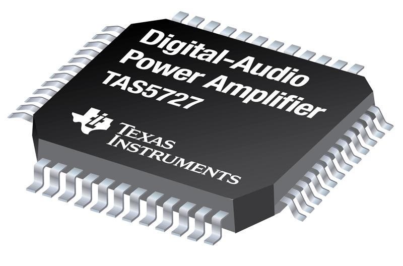 TI introduces efficient 25-W digital audio power amp for thin-panel televisions