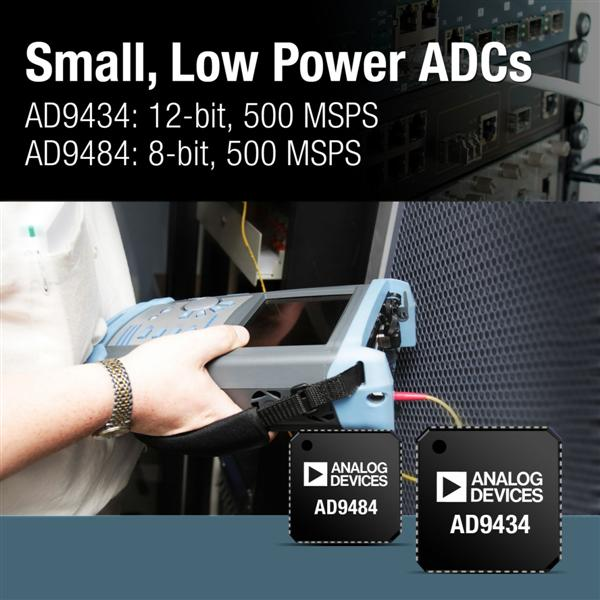 Low-Power, 12-Bit, 1.8-V A/D Converter Consumes Only 660 mW at 500 MSPS