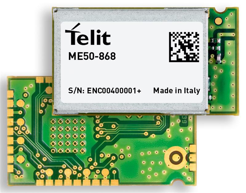 Telit Supports Smart Metering Initiatives with Energy-Efficient, Wireless M-BUS Module