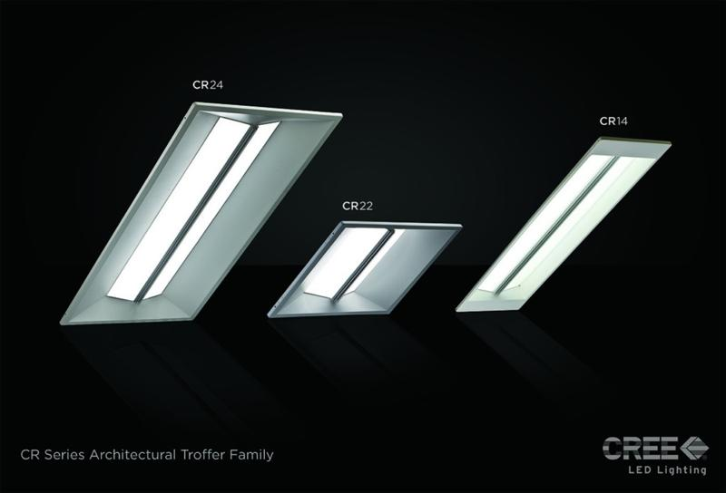 New Cree CR Series Delivers Shorter Payback, Better Light Quality and Efficacy than Fluorescents