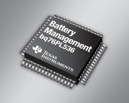 TI introduces industry's highest accuracy lithium-ion battery monitor