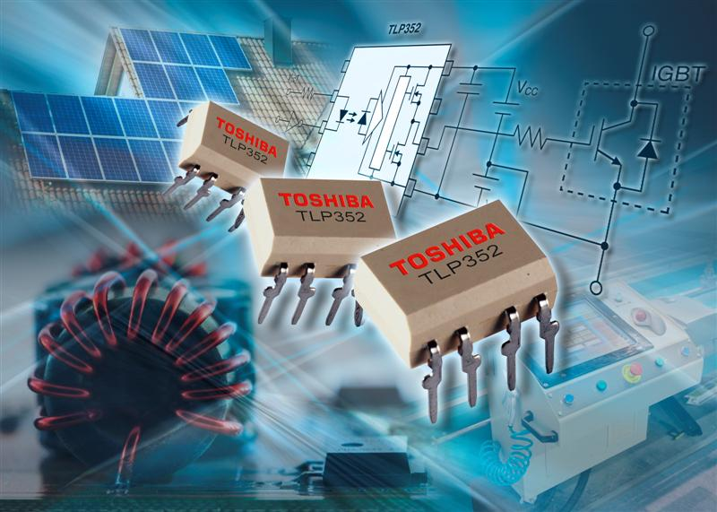 High-speed IGBT/MOSFET Gate Drive Photocoupler improves efficiency in inverter circuits