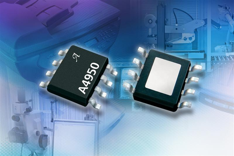 Allegro's Fully integrated DMOS motor driver IC