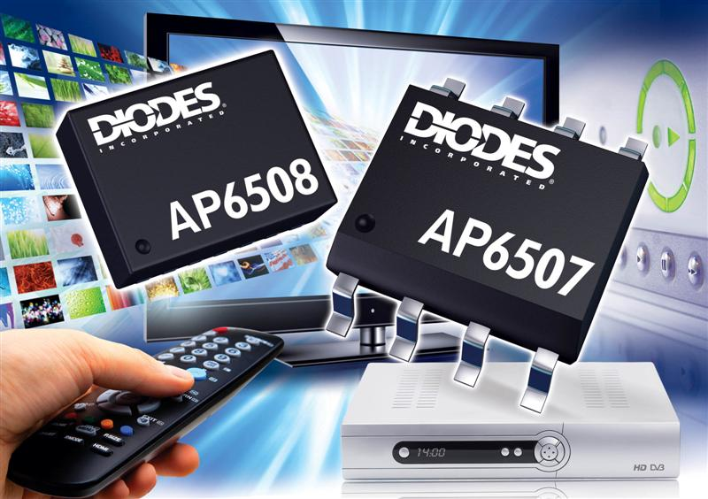 DC/DC converters from Diodes Incorporated increase efficiency