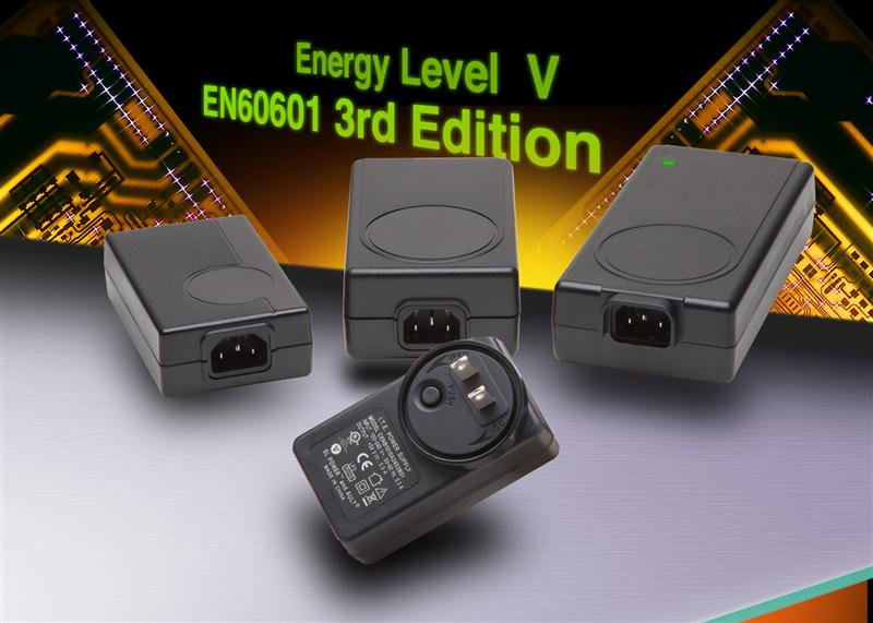 SL Power Announces Widest range of Energy Level V and EN60601 3rd Edition External Power Supplies Currently Available