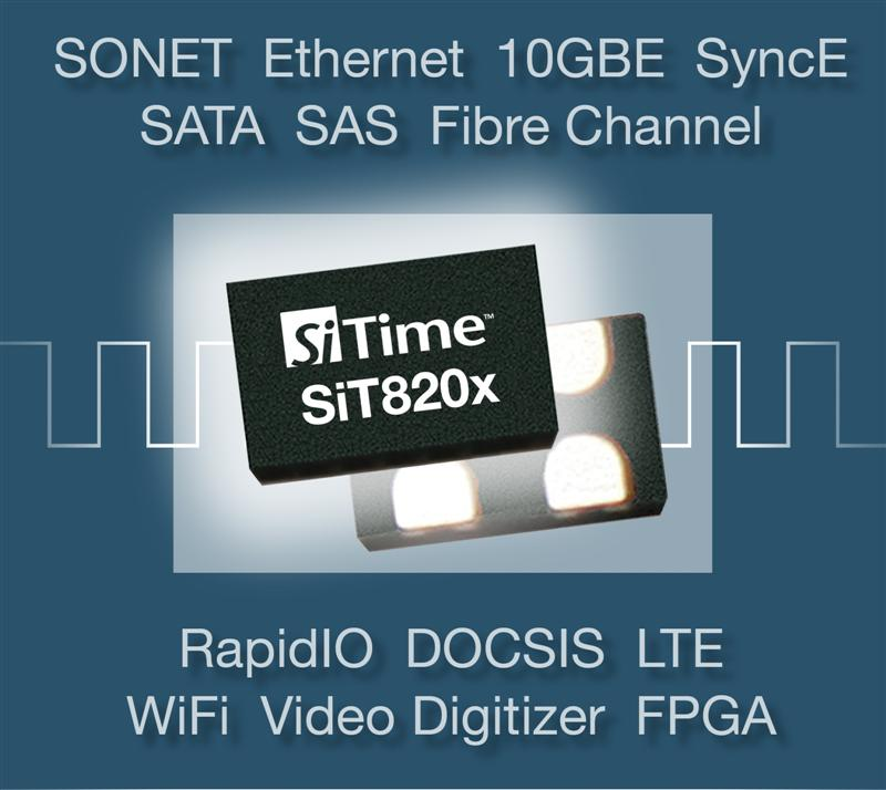 SiTime Introduces Highest Performance MEMS Oscillators for Telecom, Networking, Storage and Wireless Applications