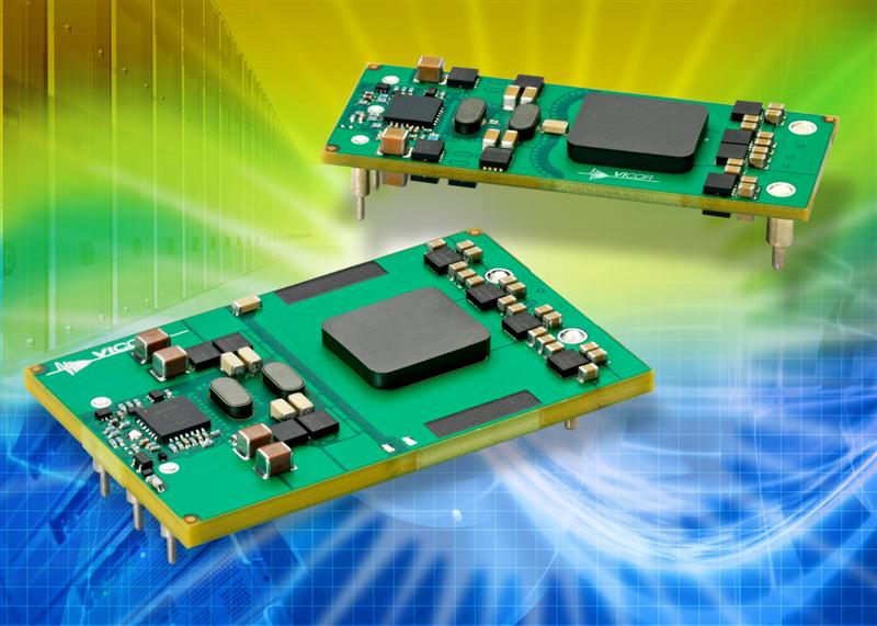 Vicor adds high-power, wide-input bus converters to family