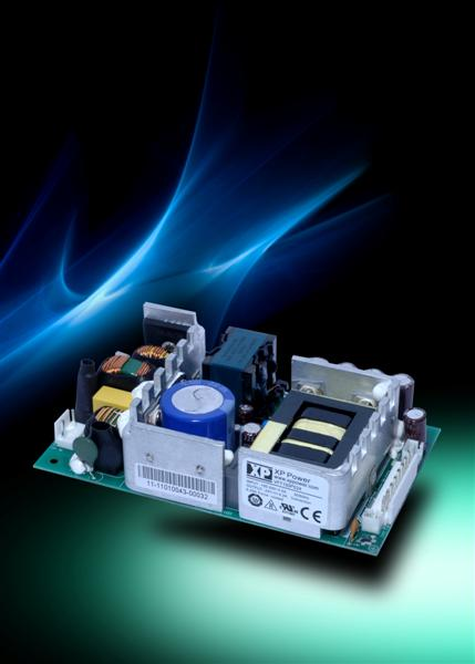 XP Power introduces open-frame 150 W AC-DC power supplies aimed at volume applications