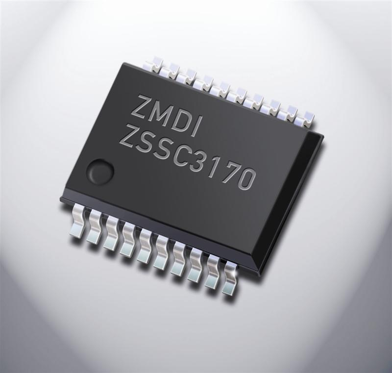 ZMDI's Sensor Signal Conditioner ZSSC3170 for Automotive Applications Shrinks Board Space and System BOM