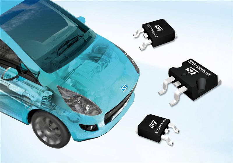 STMicroelectronics in Production with New Power MOSFETsDriving Up Vehicle Electrical Efficiency