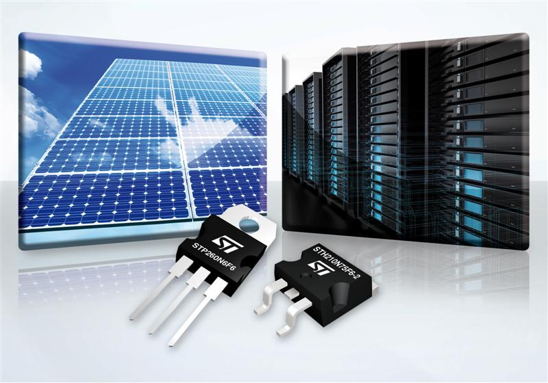 STMicroelectronics Extends Sixth-Generation Power MOSFET Family