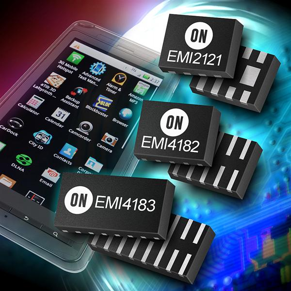ON Semiconductor introduces innovative protected Common Mode Filters for high speed serial interfaces