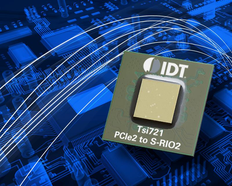 IDT Introduces Industry's First PCI Express® Gen2 To RapidIO® Gen2 Protocol Conversion Bridge For X86 Processor Applications