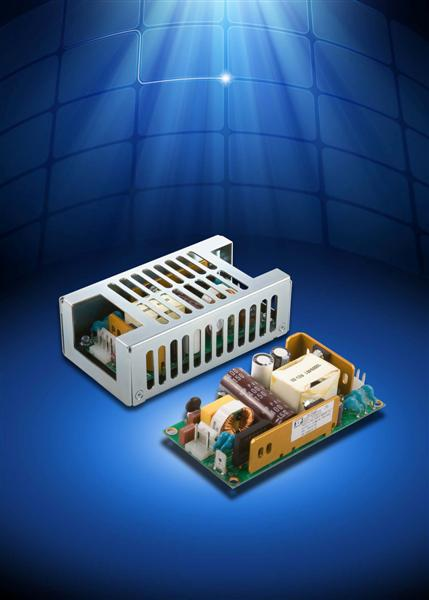 Compact AC-DC supply delivers 65 W of 'green' power from 2