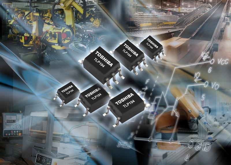 Toshiba Electronics delivers space savings for industrial isolation interfaces with extended temperature photocoupler