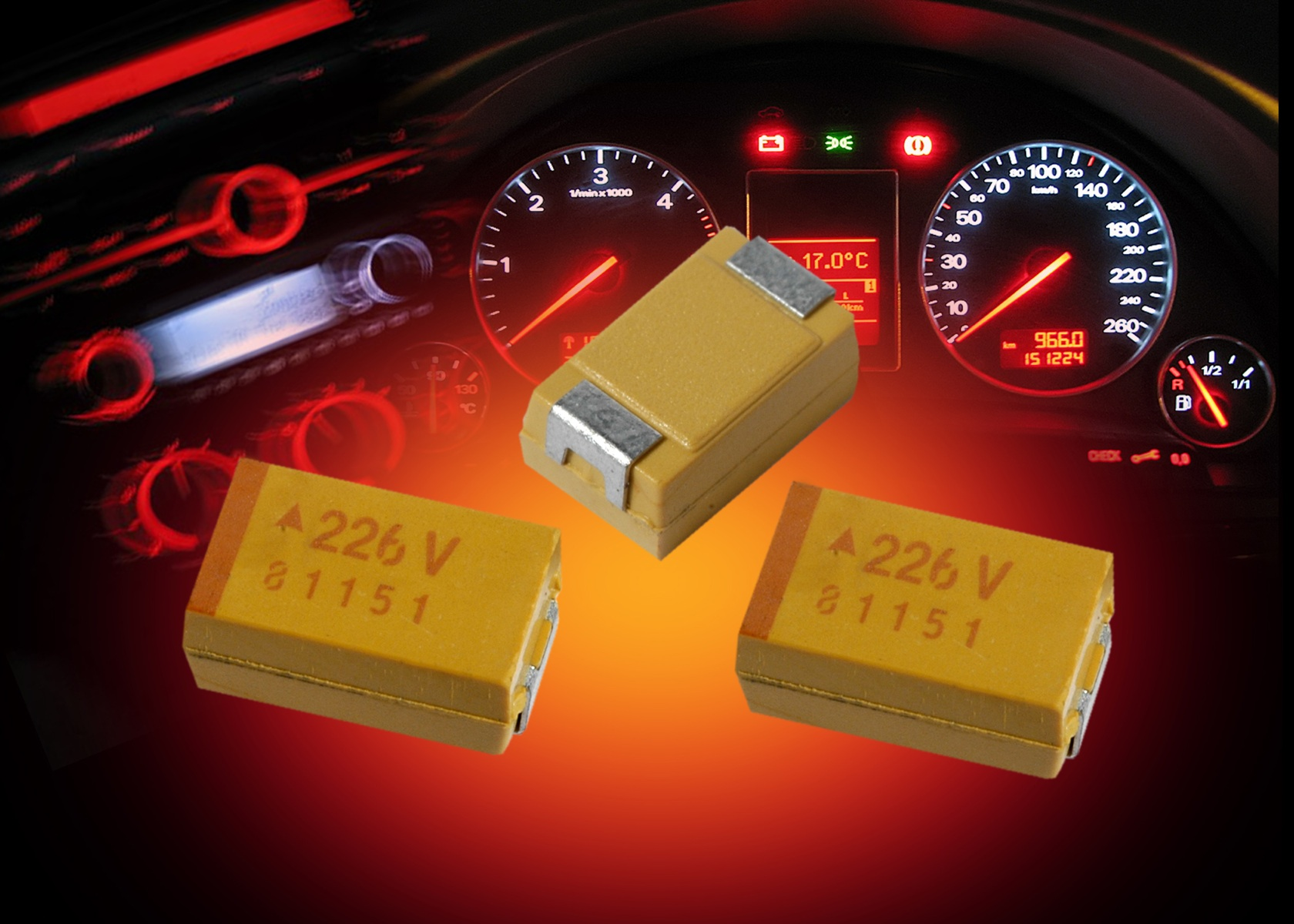 AVX Expands Robust, Commercial-Grade SMD Tantalum Capacitor Series for Long-Life Applications