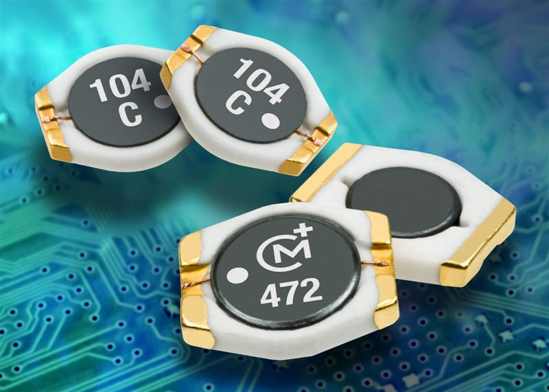 Power inductor series suits height-constrained applications