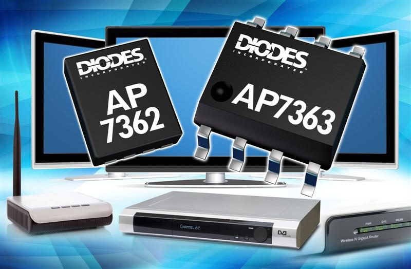Ultra-low dropout regulators from Diodes use less power