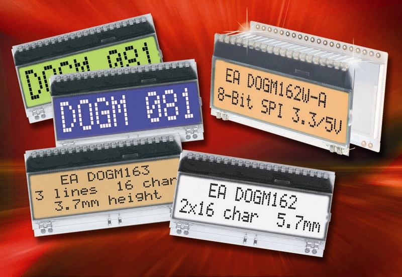 Variable LCD Display Requires No Additional Auxiliary Voltage