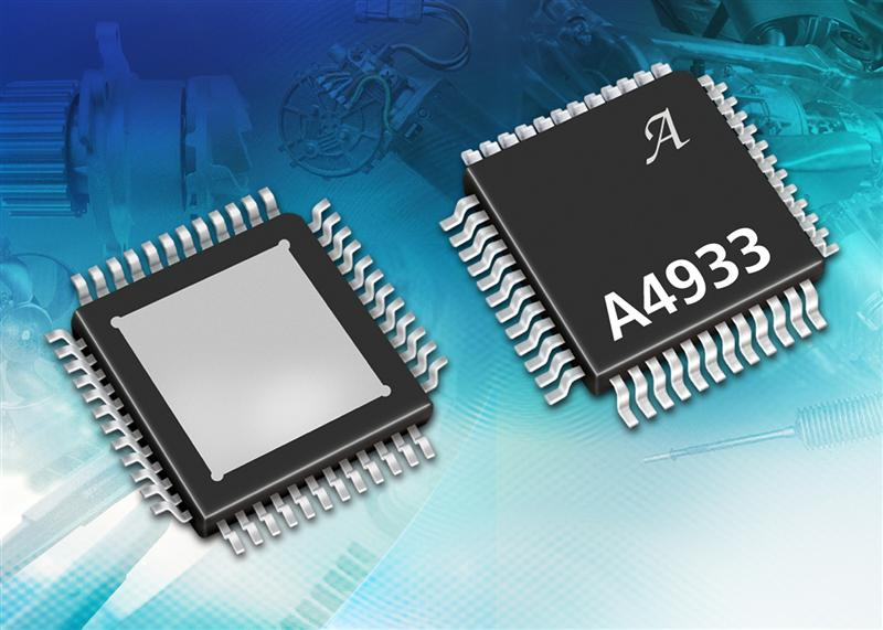 Automotive grade 3-phase MOSFET pre-driver IC for brushless DC motor control