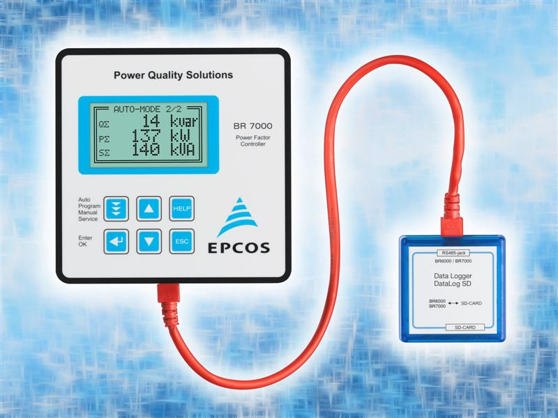 Power factor correction: Data loggers with long recording times from TDK-EPC Corporation
