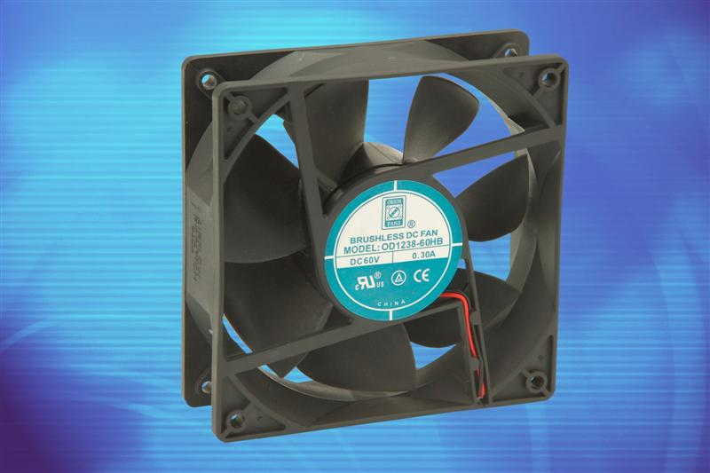 Orion Fans Develops Higher Voltage DC Fan Series for Telecom Applications