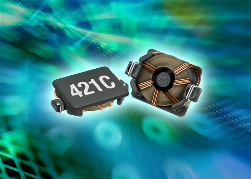 Toroidal surface mount power inductor aimed at compact consumer electronics devices