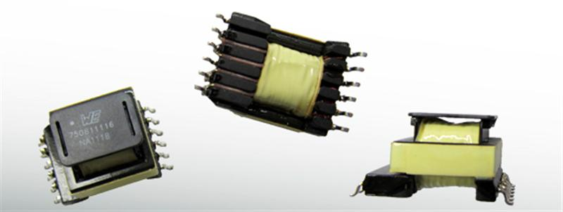 Flexible SMD Offline Transformer from Wurth Electronics Midcom