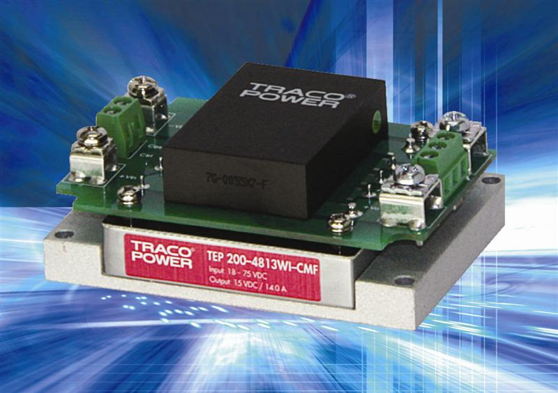 High Power Density DC/DC Converter Modules From Powersolve Provide Over 200W