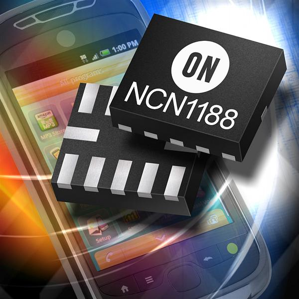 ON Semiconductor enhances sharing of multimedia content with new high speed 3:1 USB Mobile High Definition Link switch