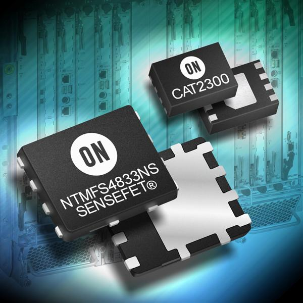 ON Semiconductor introduces current mirror with switch controller and SENSEFET Power MOSFETs