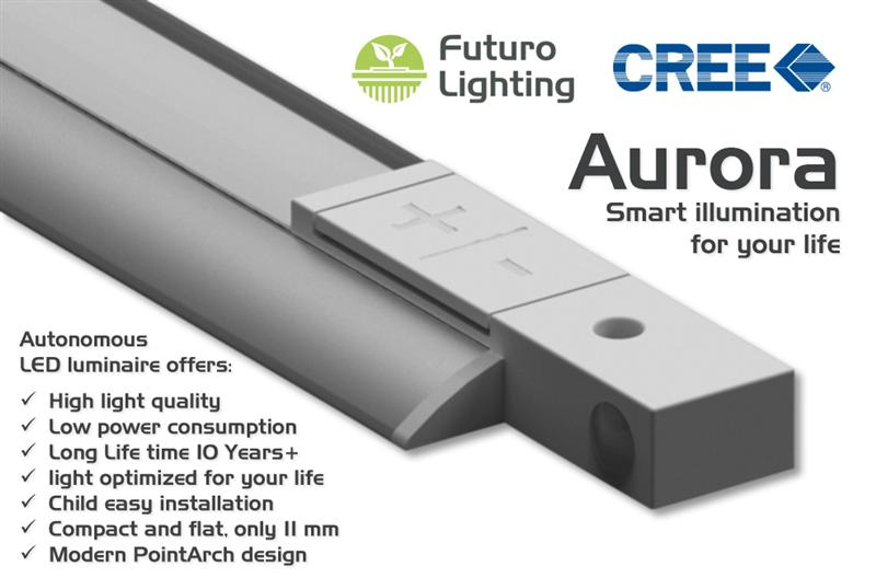 FuturoLighting introduces smart LED luminaire based on Cree XLamp® ML-E LED solution