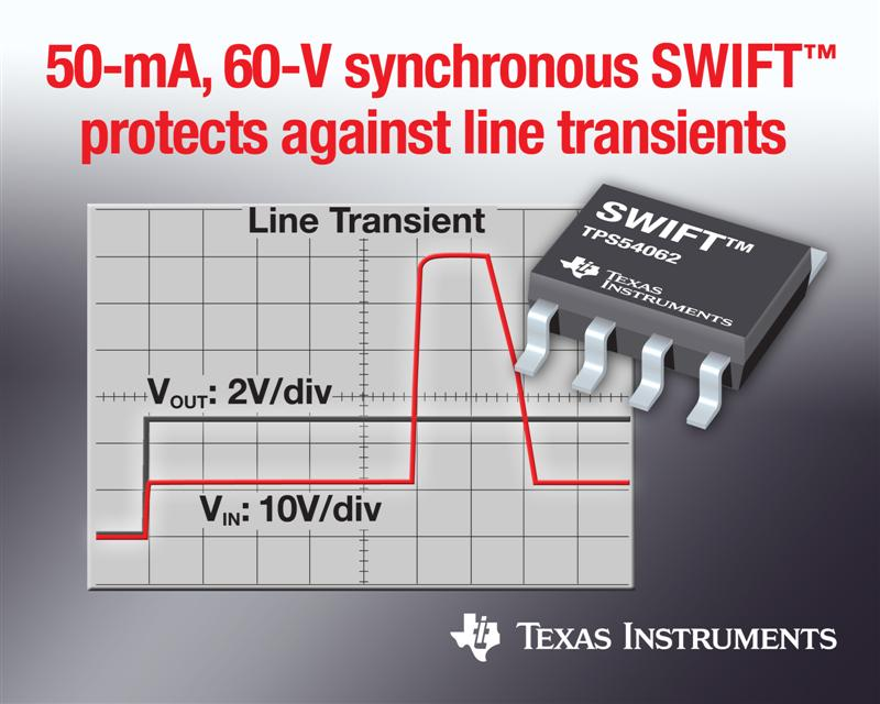 High-performance DC/DC converter with integrated FETs provides 90-percent power efficiency, transient protection in smallest solution