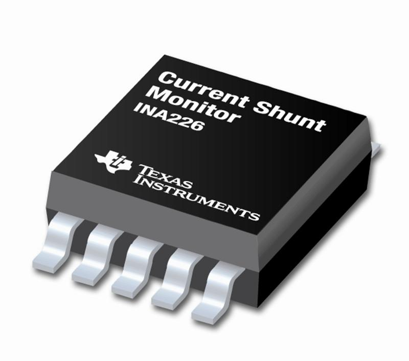 TI introduces industry's most accurate current shunt monitor