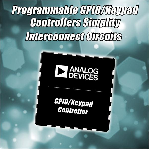 Programmable Low-Power GPIO/Keypad Controllers