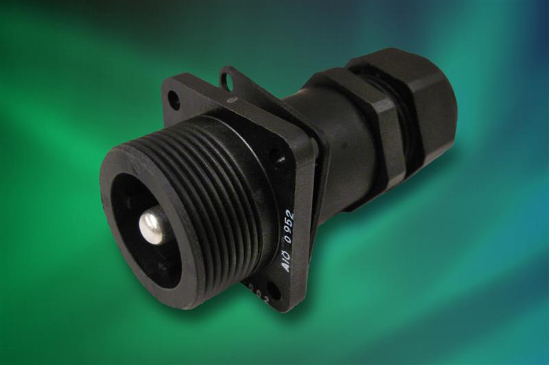 New Rugged Connector from Amphenol Features High Amperage; Low Mating Force