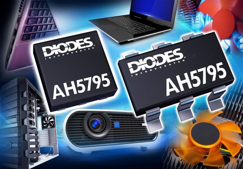Diodes Inc. introduces industry's smallest full-feature single-chip solution for smart fan motor driver applications