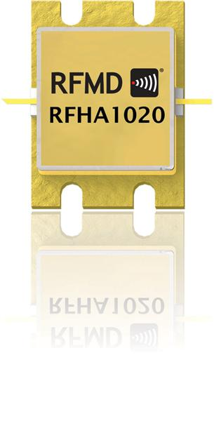 RFHA1020 280W GaN Wideband Pulsed Power Amplifier