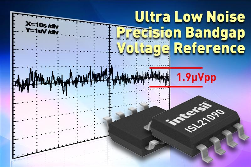 Precision Bandgap Voltage Reference Provides Exceptional Initial Accuracy at Input Voltages of up to 36V